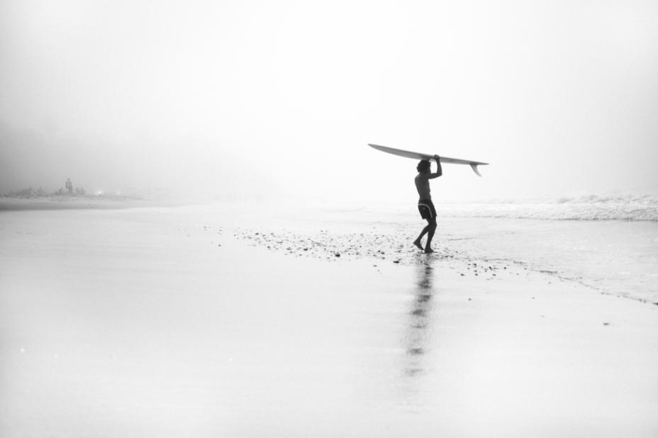 Salt Water California surf Filippo Maffei longboard