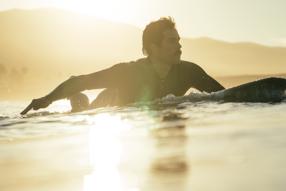 Salt Water California surf Filippo Maffei sunrise