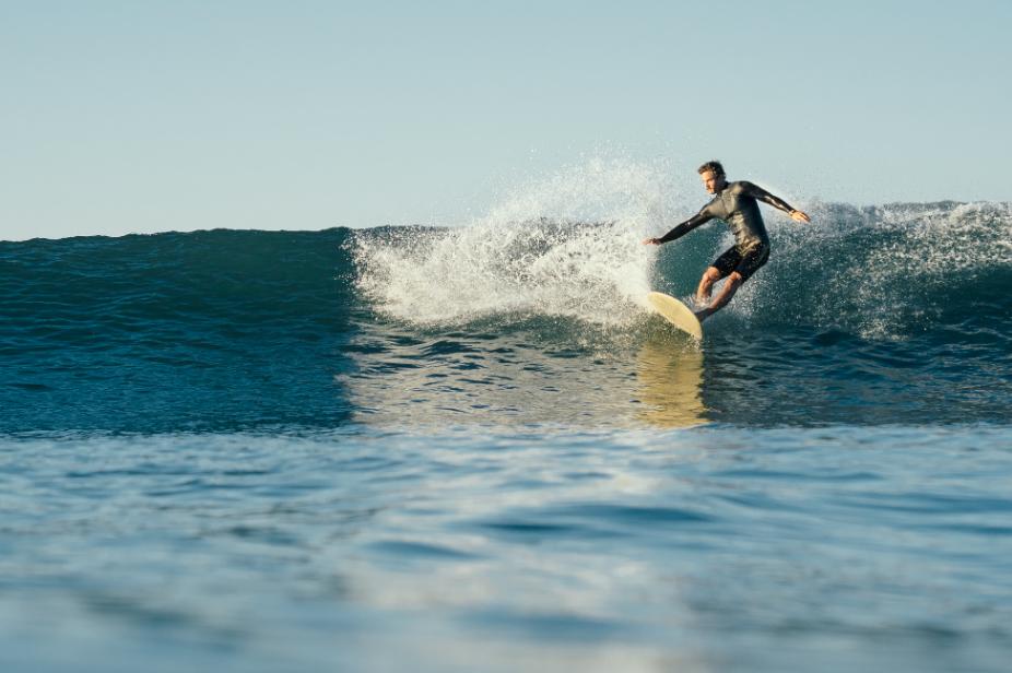 Salt Water California surf Filippo Maffei cut back