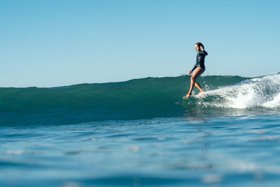 Salt Water California surf Filippo Maffei nose ride