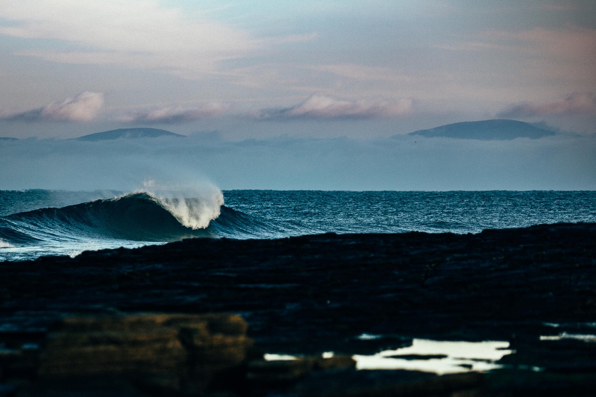 Salt Water Dan petermann scotland wave