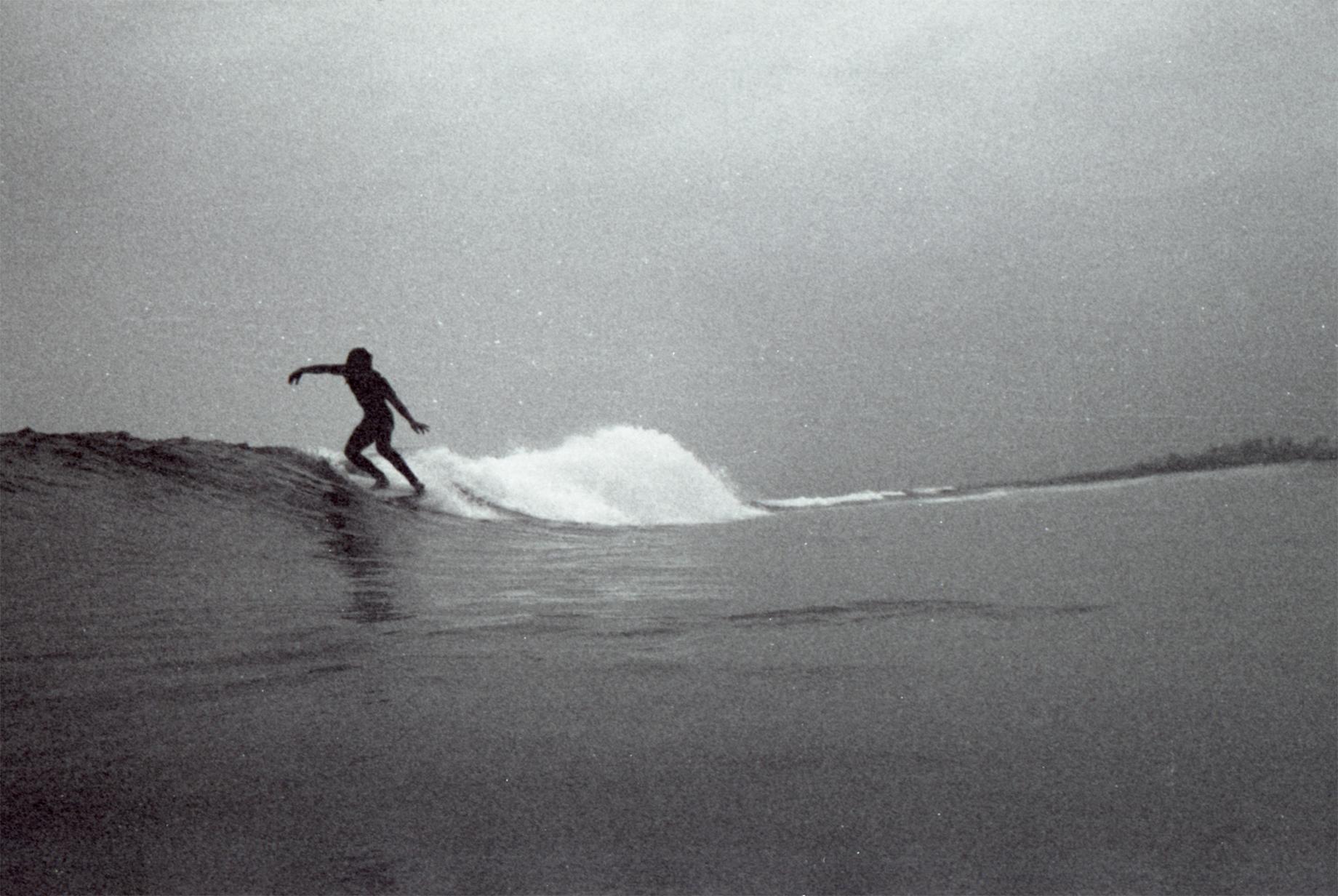 Salt Water Australia surf LG B&W