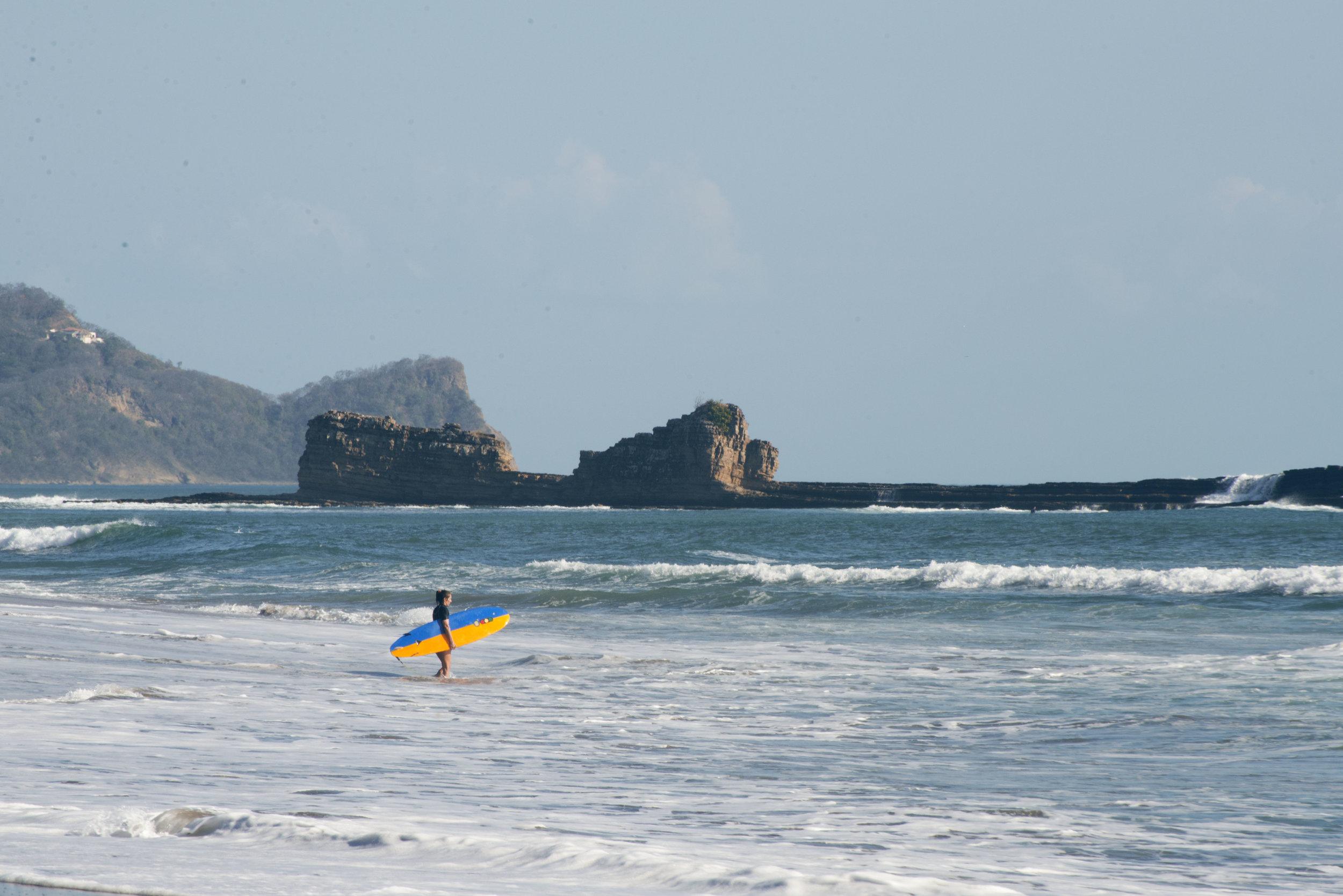 Salt Water popoyo surf