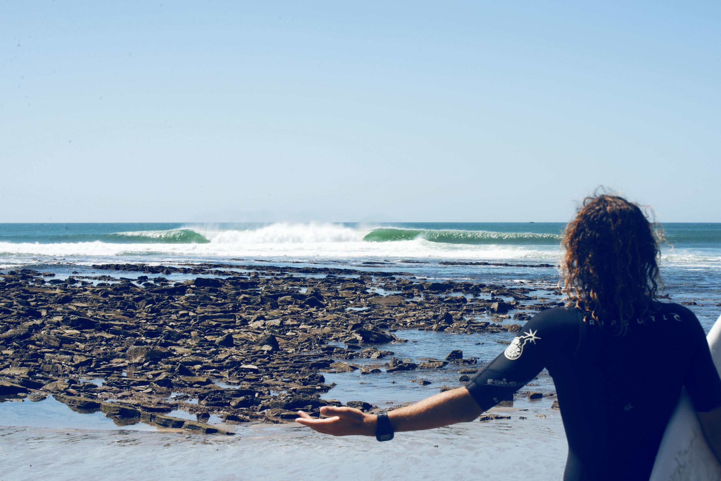 salt water popoyo surf trip