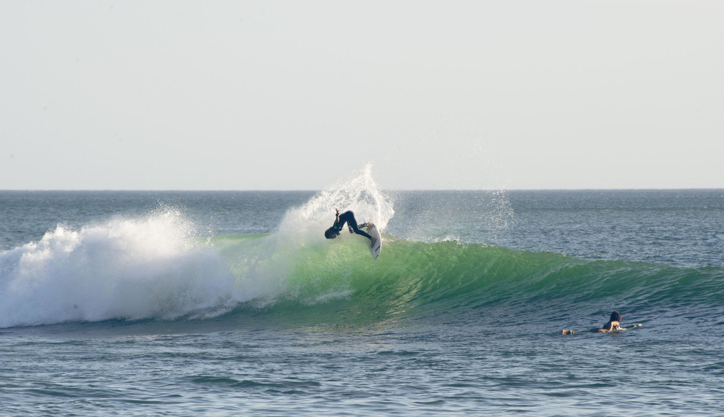 salt water surf popoyo