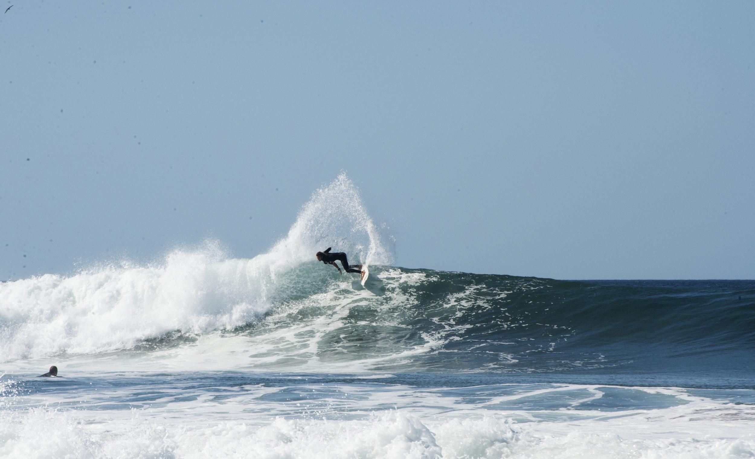 surf turn salt water popoyo