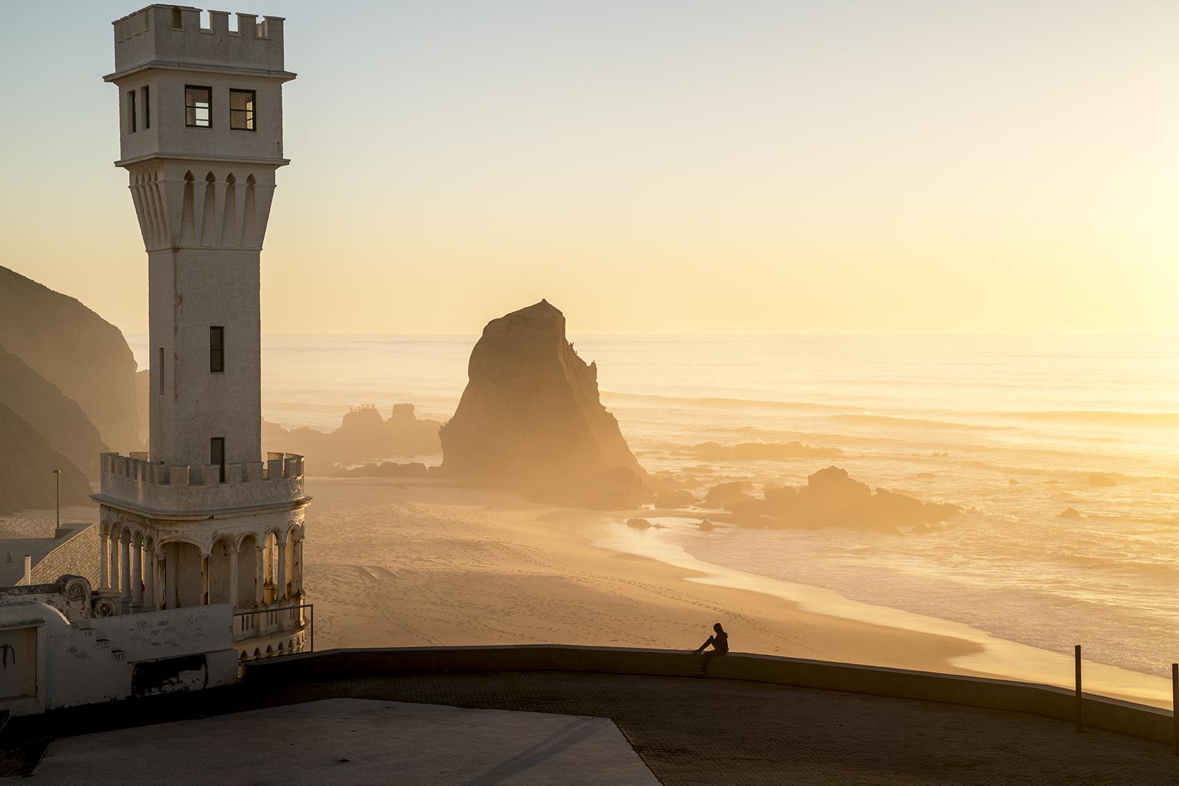 Salt Water portugal sunset