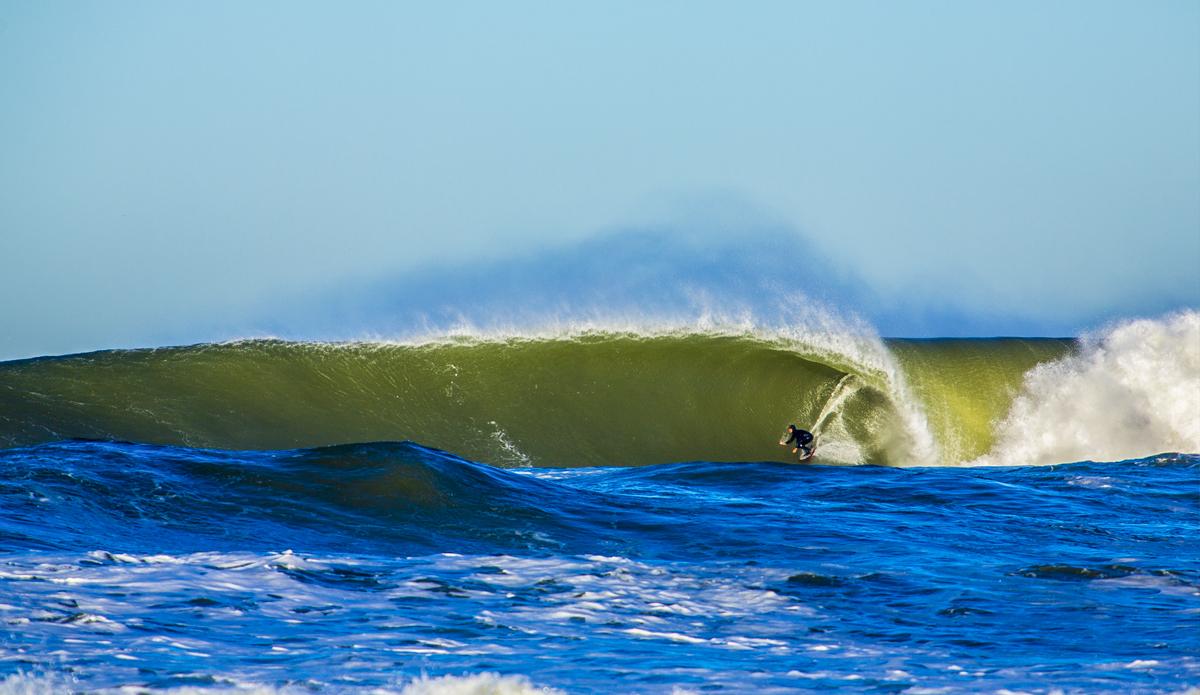 salt water barrel surf baja damian davilla