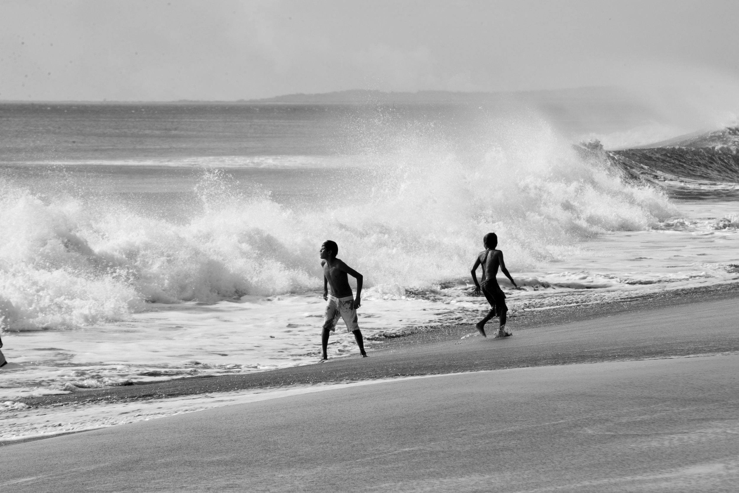 salt water Nicaragua trip