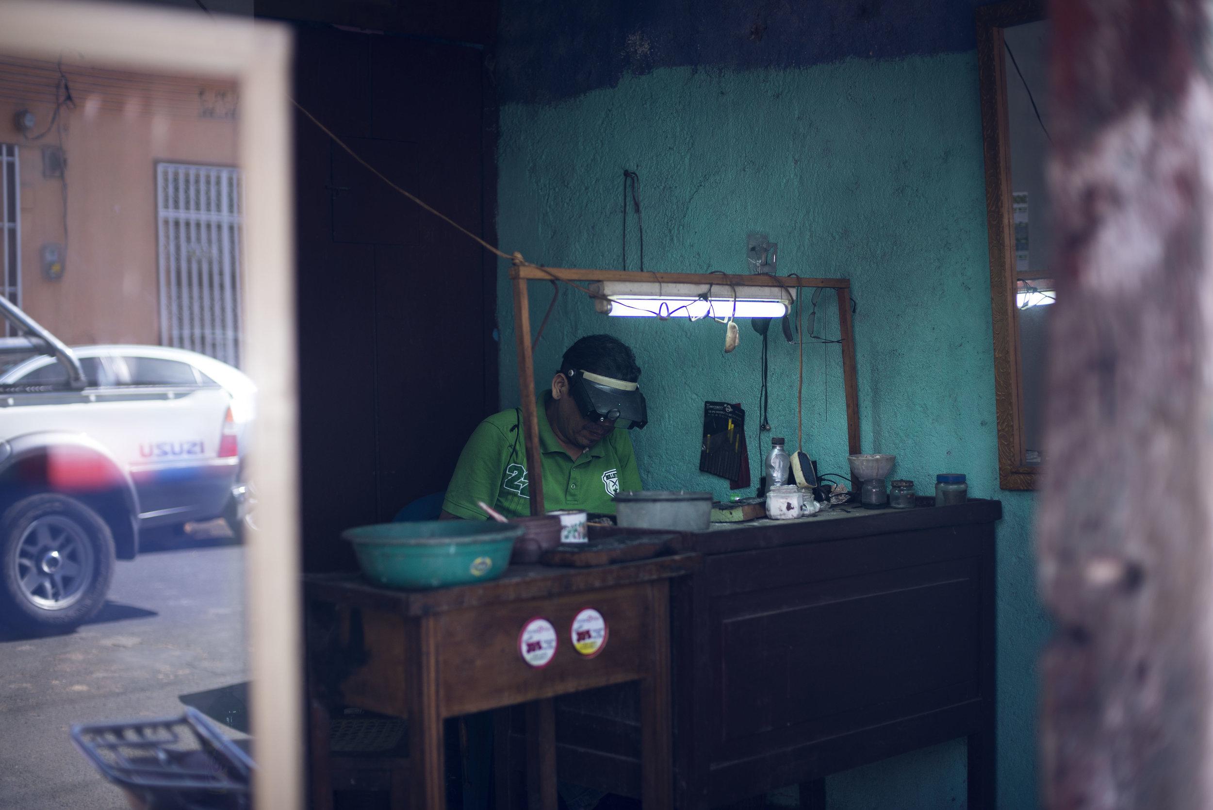 salt water Nicaragua city
