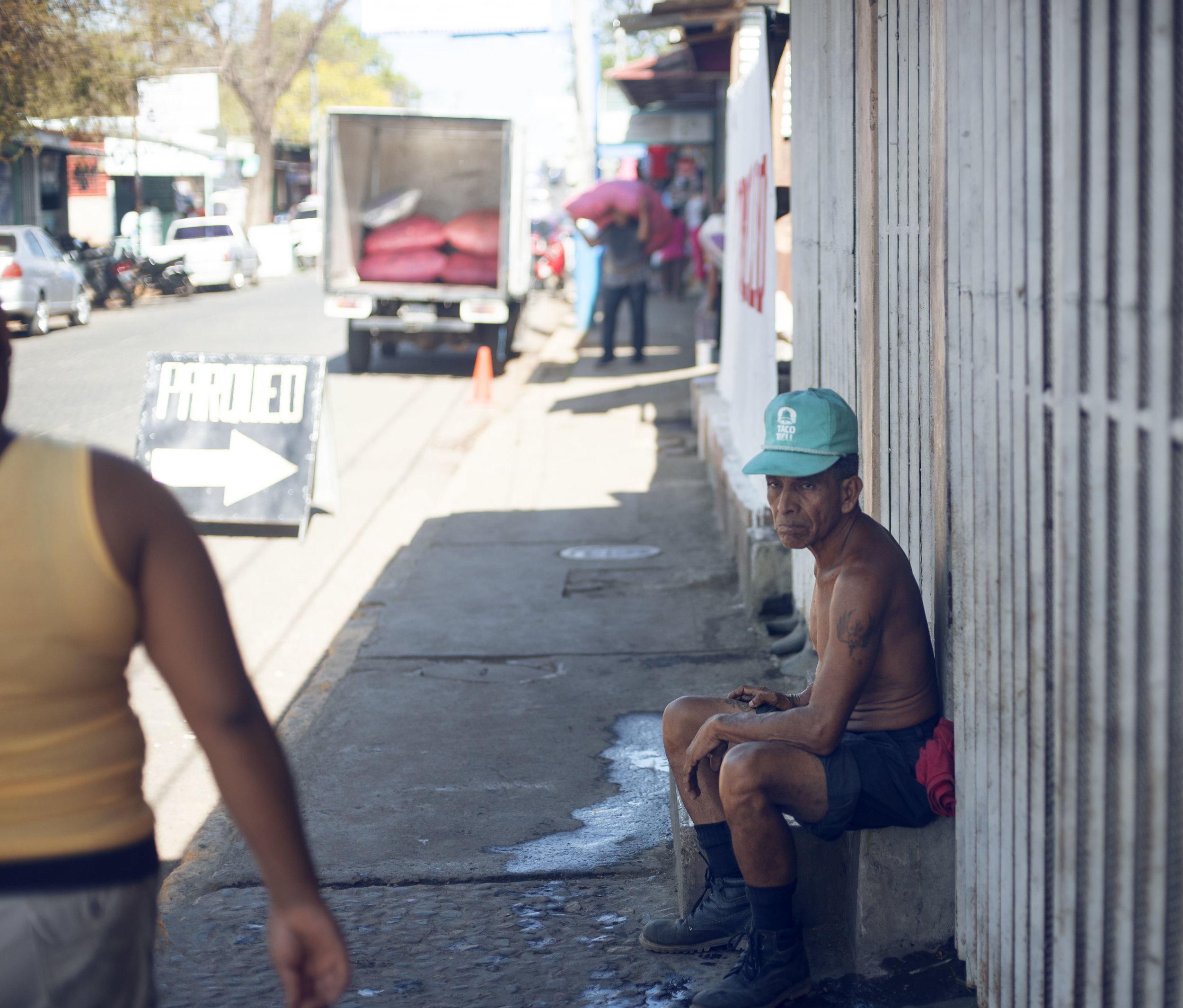 salt water Nicaragua street