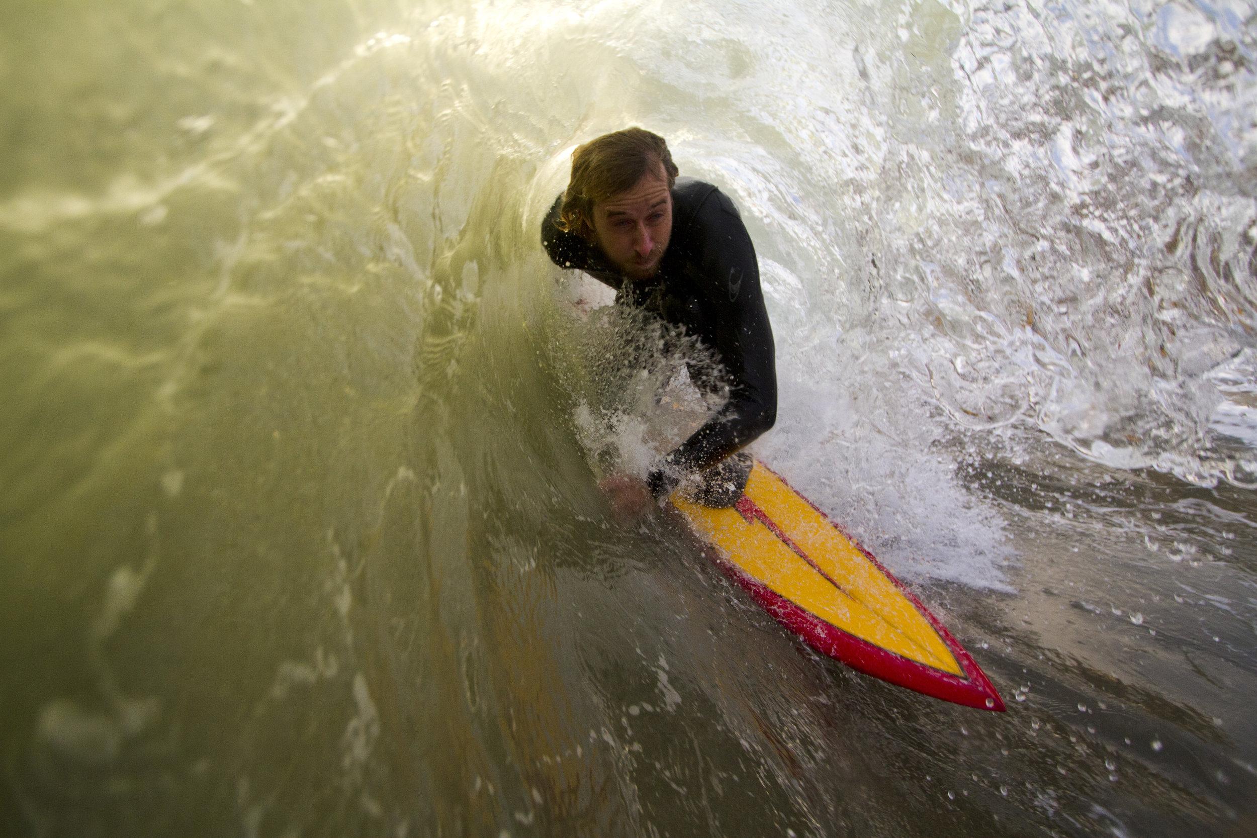 Rider: Mikey Ronge  Credits: Matt Wessen Hollingsworth Surfboards