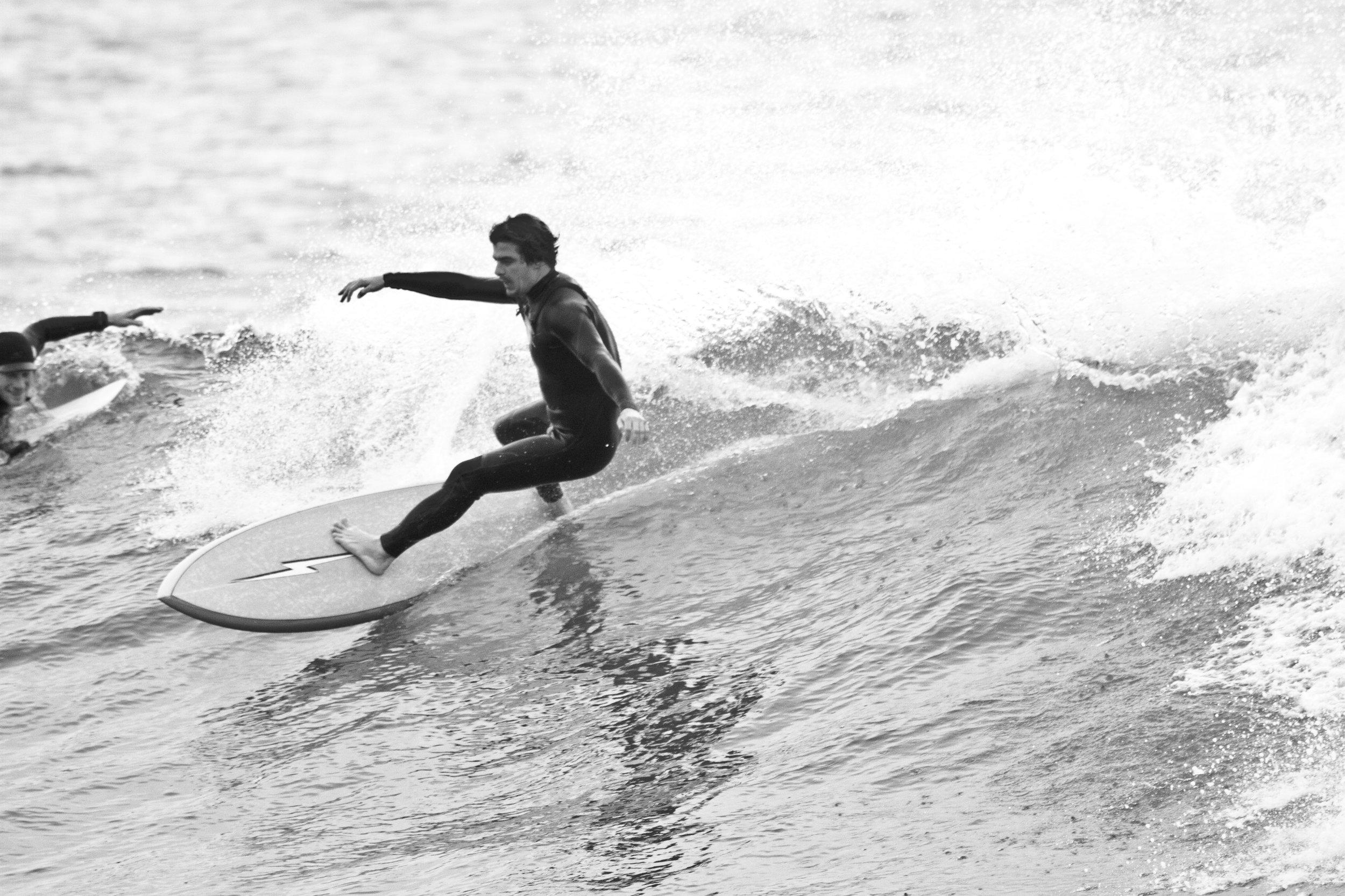 Rider: Gege Brasset  Credits: Matt Wessen with Hollingsworth Surfboards
