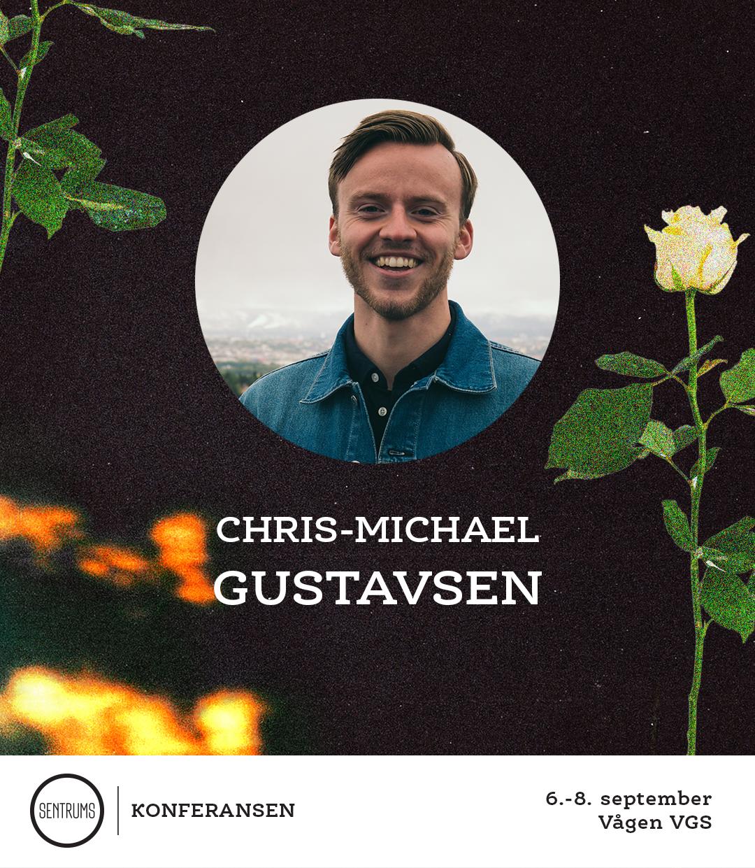 Chris-Michael Gustavsen leder ungfila, en av Norges største og mest innflytelsesrike ungdomsarbeid. Han kommer for å inspirere og henge med ungdommene på konferansen. Vi er så forventningsfulle!