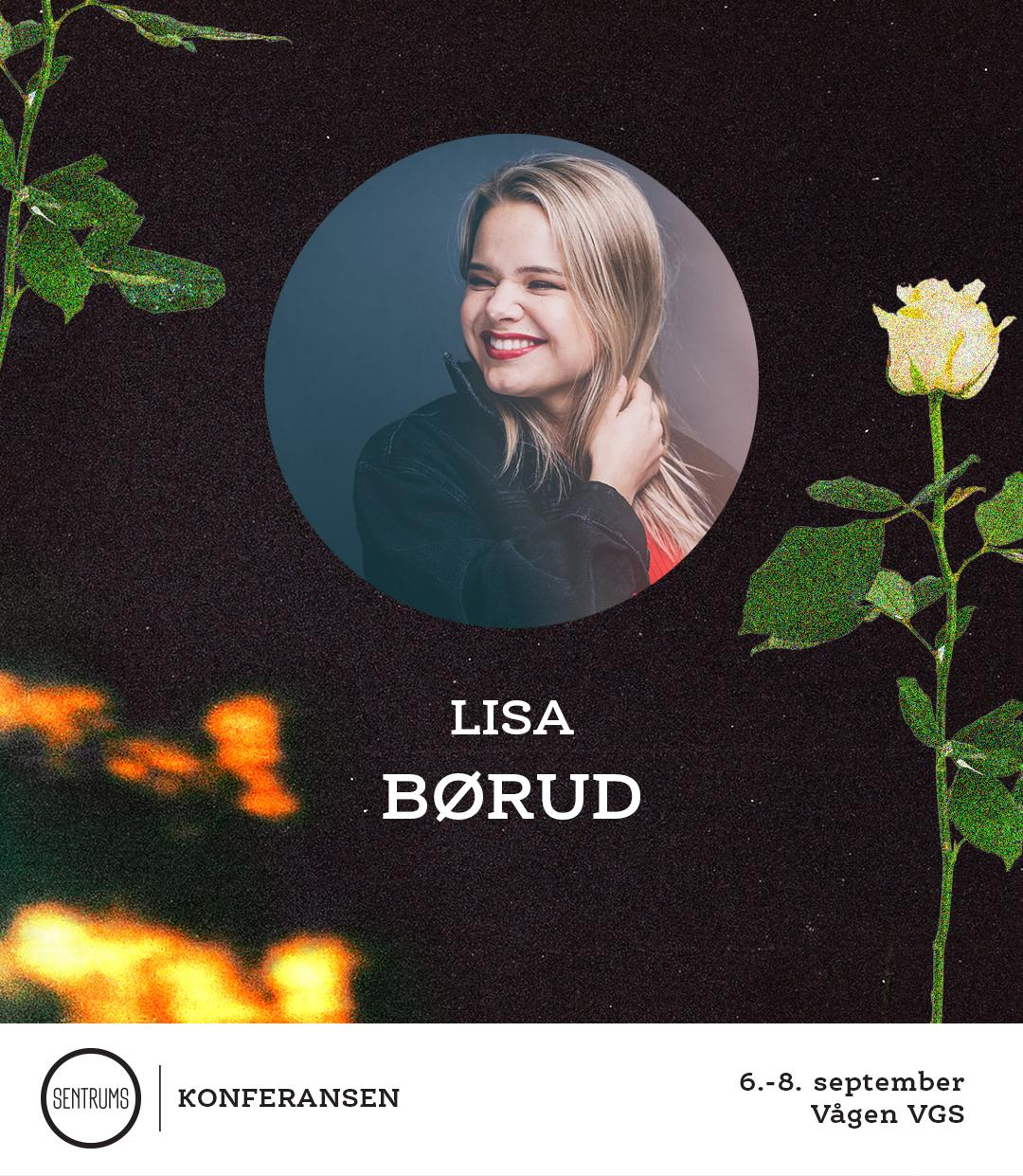 Lisa Børud trenger nesten ingen introduksjon. Barnestjernen som har klart å fenge flere generasjoner med musikk, dans og inspirasjon. Hun holder også til i Filadelfiakirken Oslo og gleder seg til å være involvert både i barnas og ungdommenes konferanse!