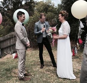 Sarah and John's Wedding Ceremony