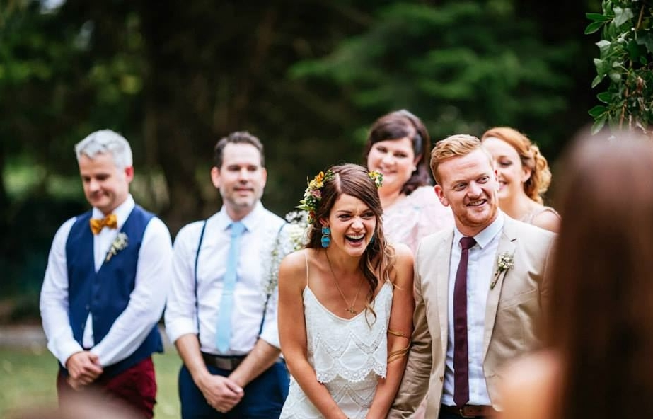 MY BACK-UPS - I have a few backups. My main one is now Sam Lavery - s fellow friend, celebrant and stand-up comedian.
