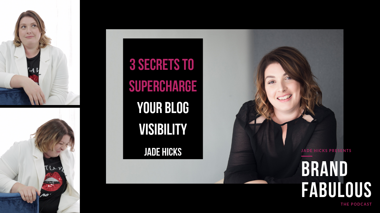 3 Secrets to supercharge your blog visibility