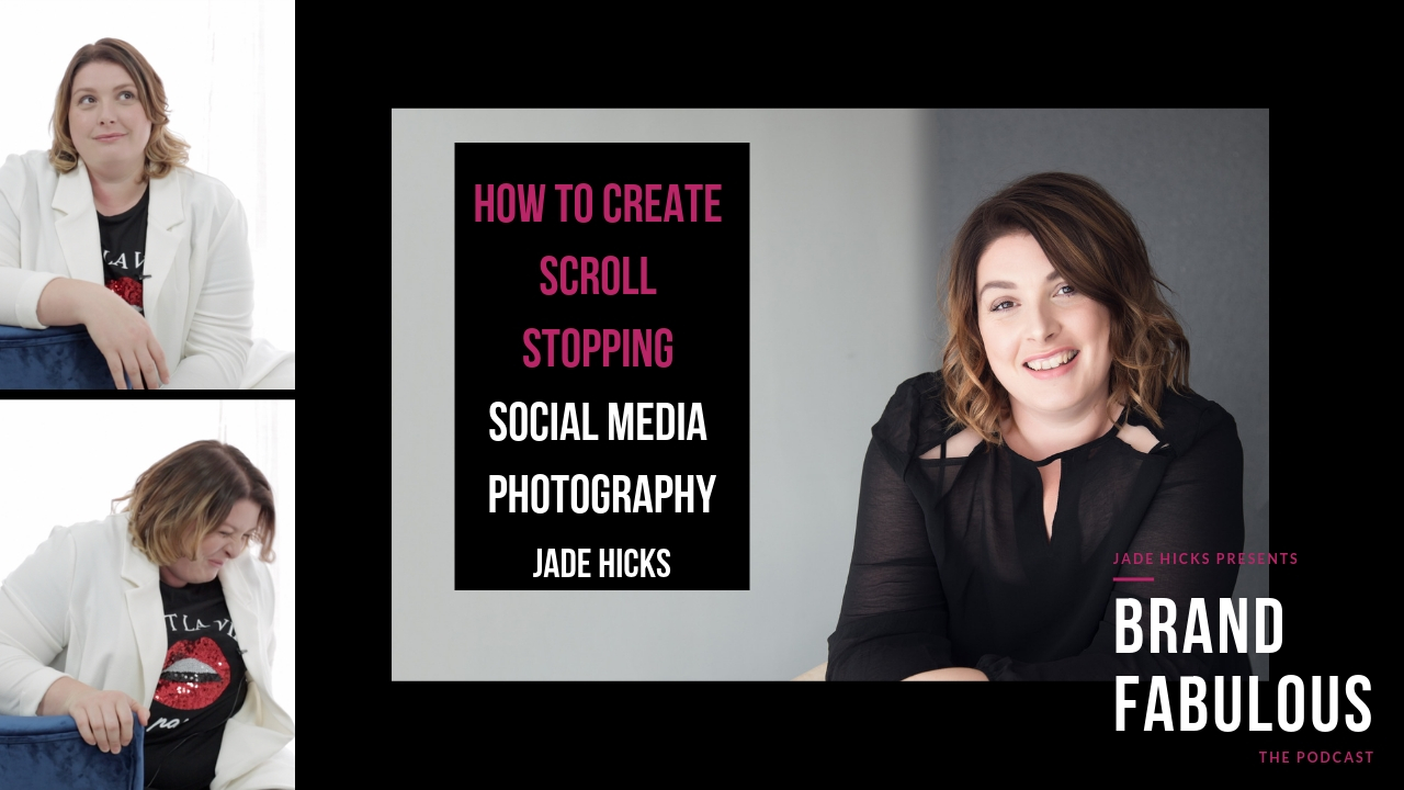 How to create scroll stopping Social media photography for bloggers.