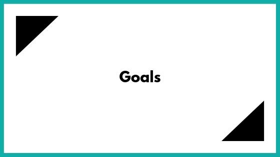 Goal setting for small businesses