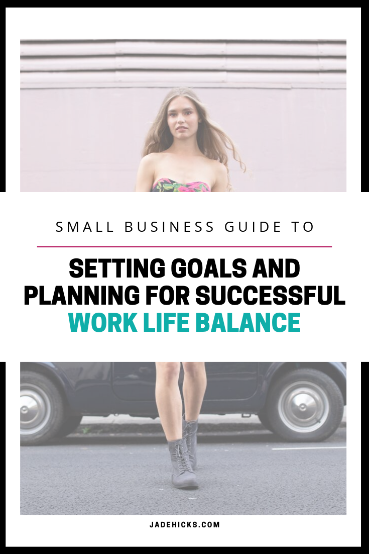 goal setting for work life balance