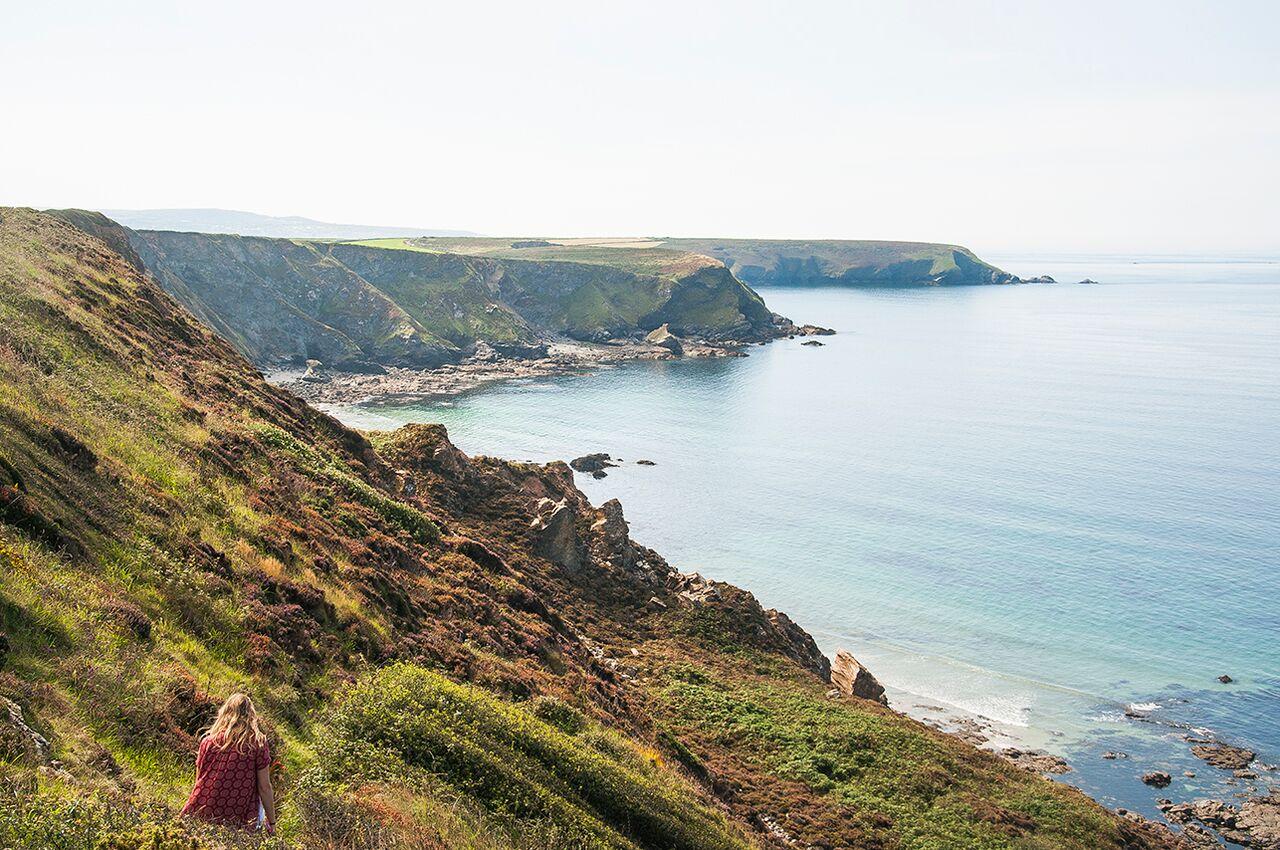 Walks along the coastal paths