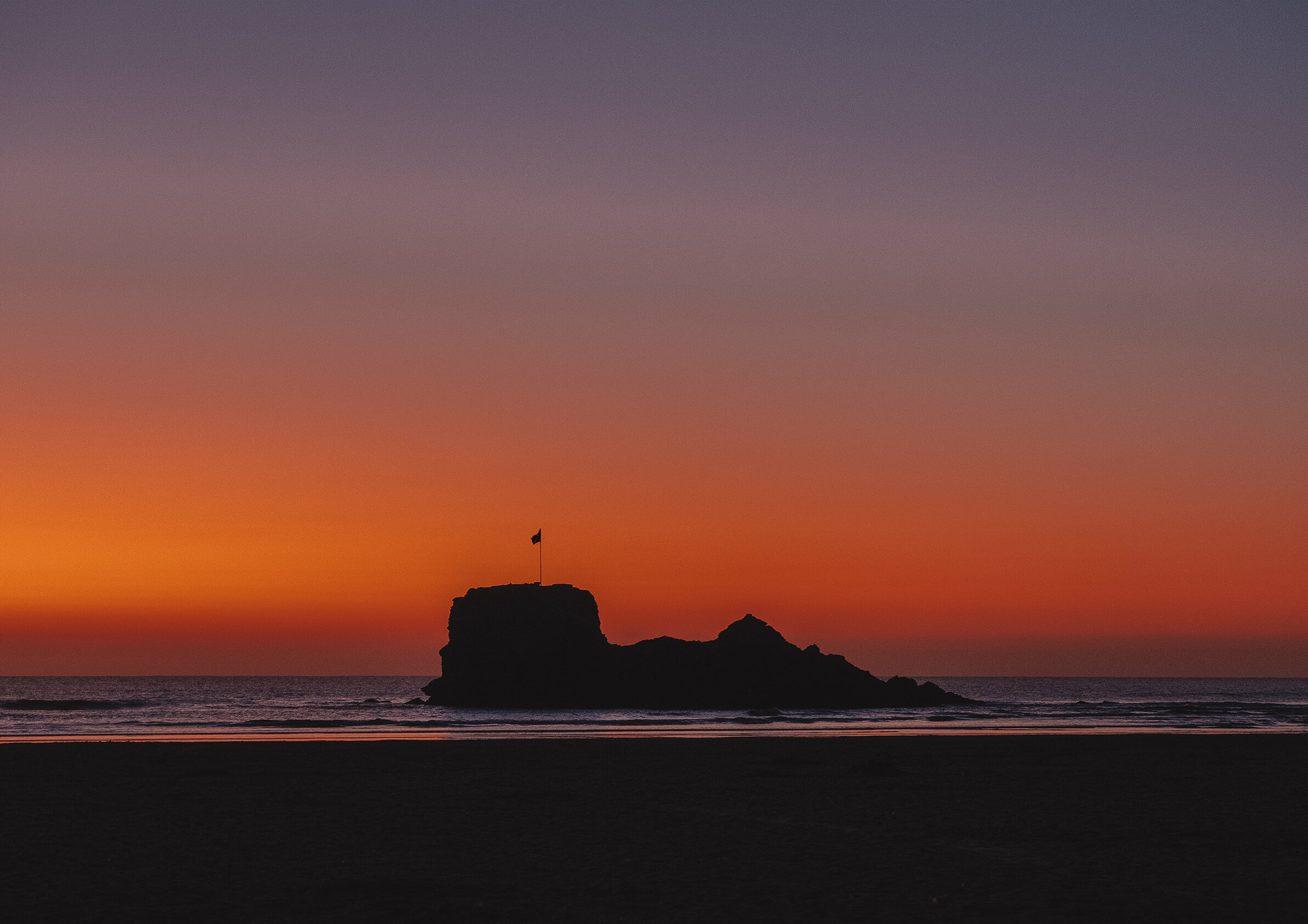 Sunset at Chapel Rock A1 Print.jpg