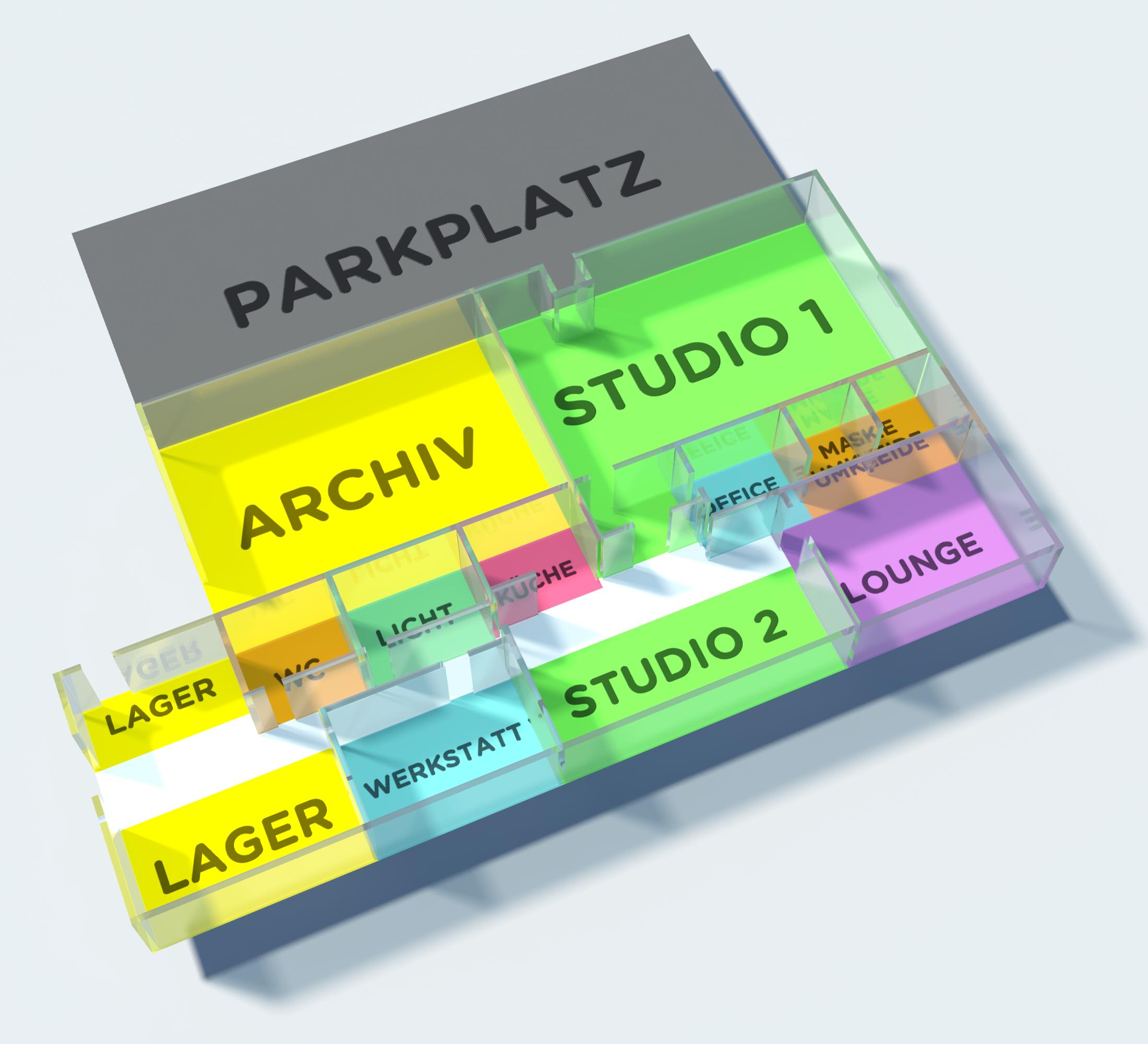 Unser Studioplan