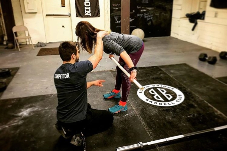 So, you've never done Crossfit before… -