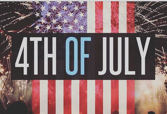 Happy 4th of July. The land of the free and the brave. #functionaltraining #gymlifestyle #dayoff #relax #july4th #family