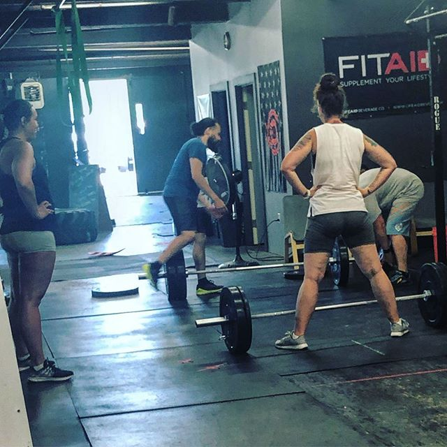 Some sumo deadlifts today. Monday we deadlift. #crossfitisfun #fundamental #functionalfitness #functionalfitness #getyourasstoclass #getyourasstothegym