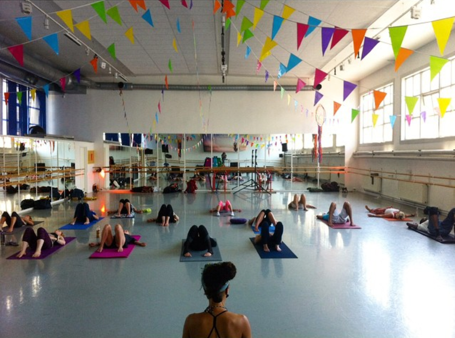 Yoga Festivals - Om Yoga Festival in Manchester and London (UK) + Movement Arts Festival in Oslo (Norway)