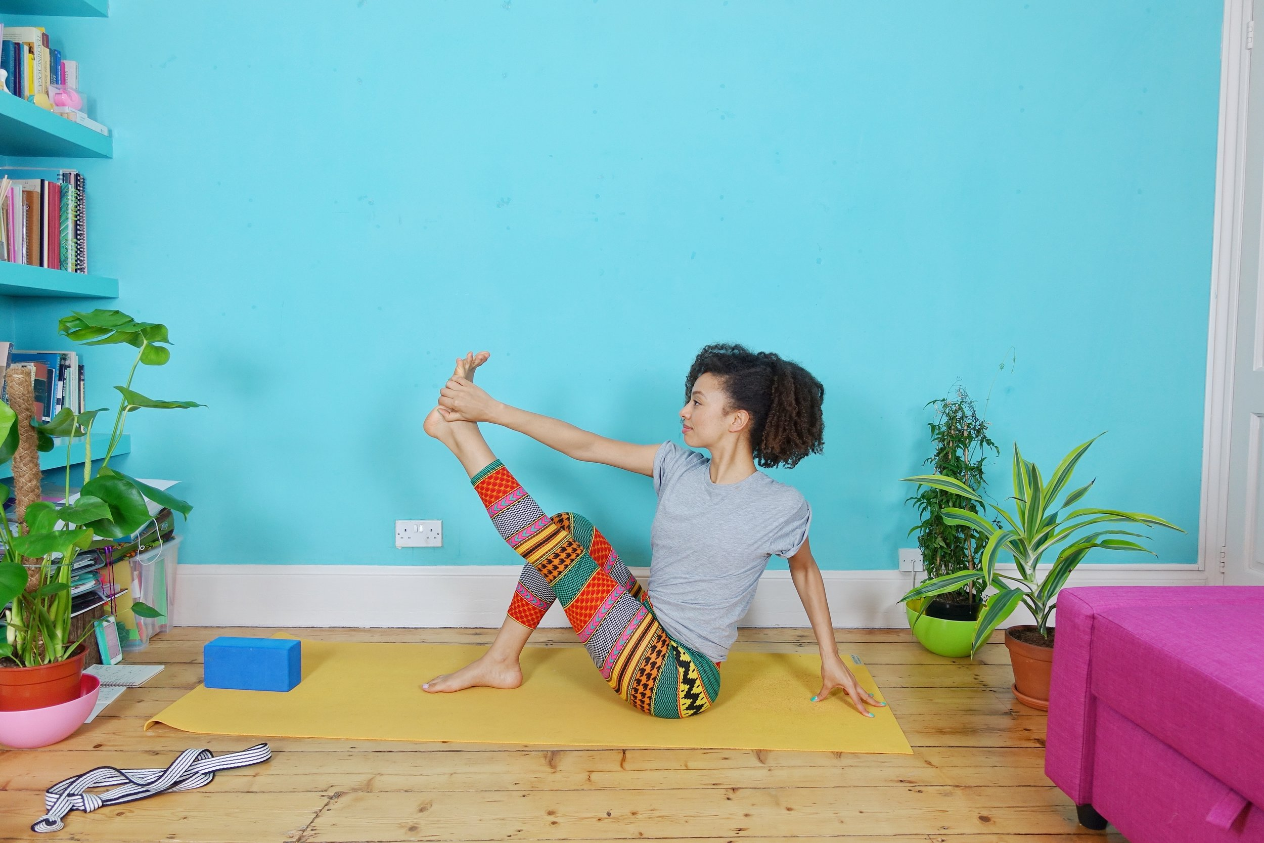 Yoga with Dionne on Youtube - Free yoga videos with a range of lengths and styles