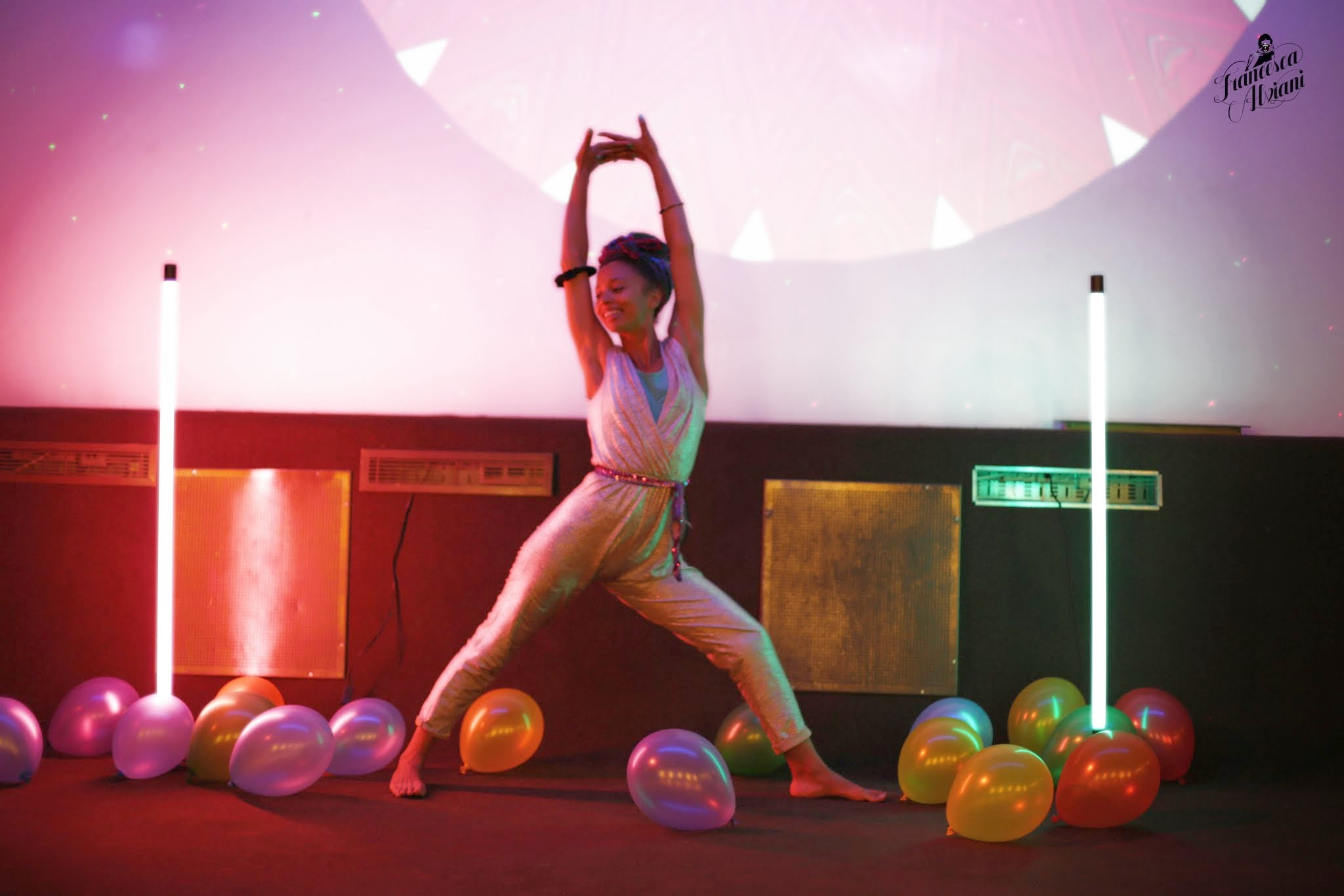 Yoga Disco - Music + Movement + Lights