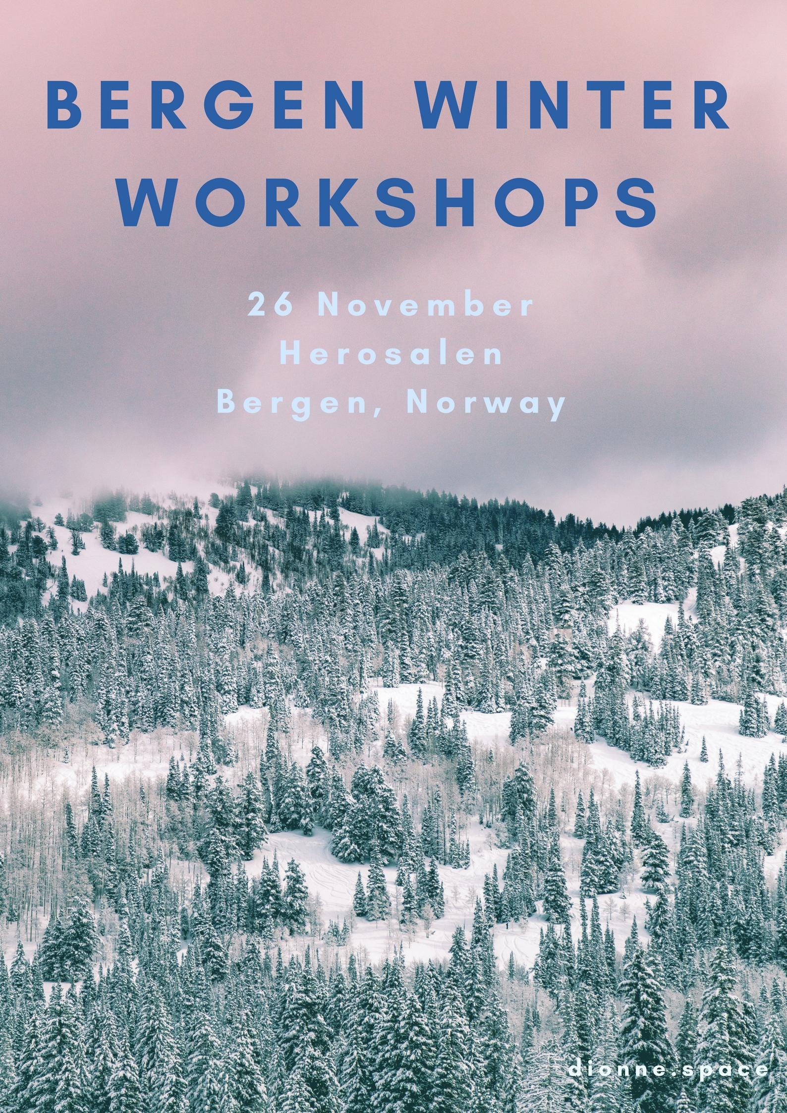 dionne.space bergen winter workshops