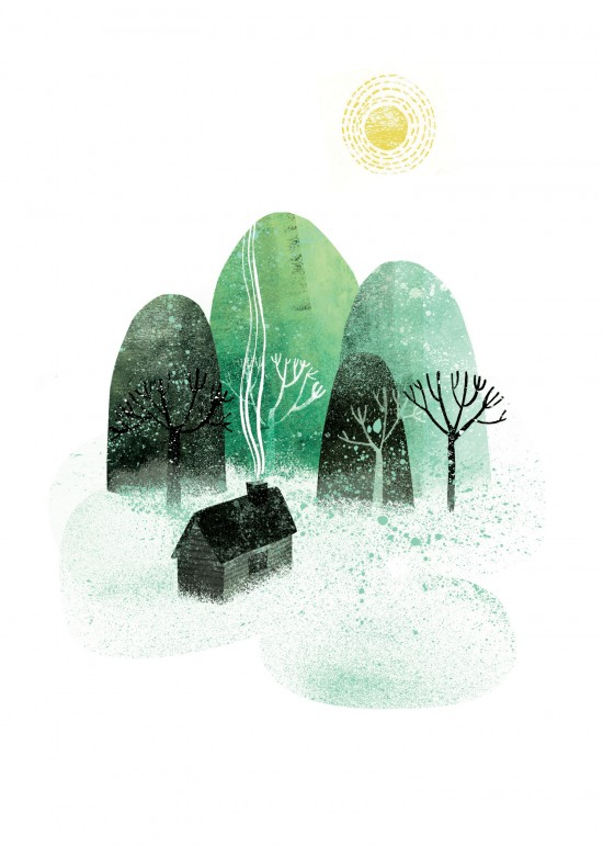 Get koselig and close to nature!  illustration by Essi Kimpimaki