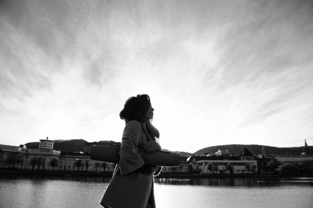 Me in Bergen (photo by Fred Klemetsen)