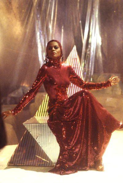 Diana serving us regal cave attire
