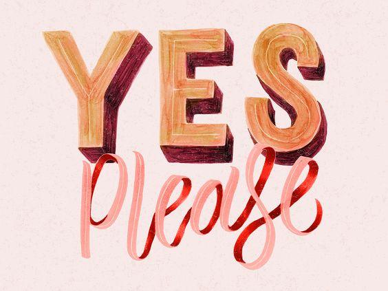 SAYING YES TO PLEASURE!