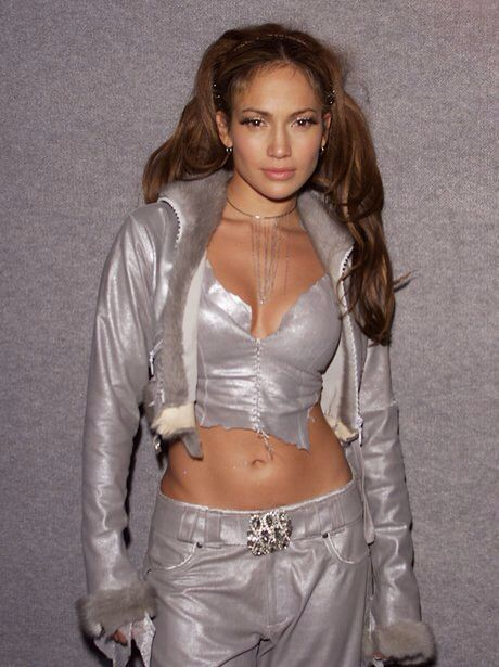 JLo looking the epitome of 2000