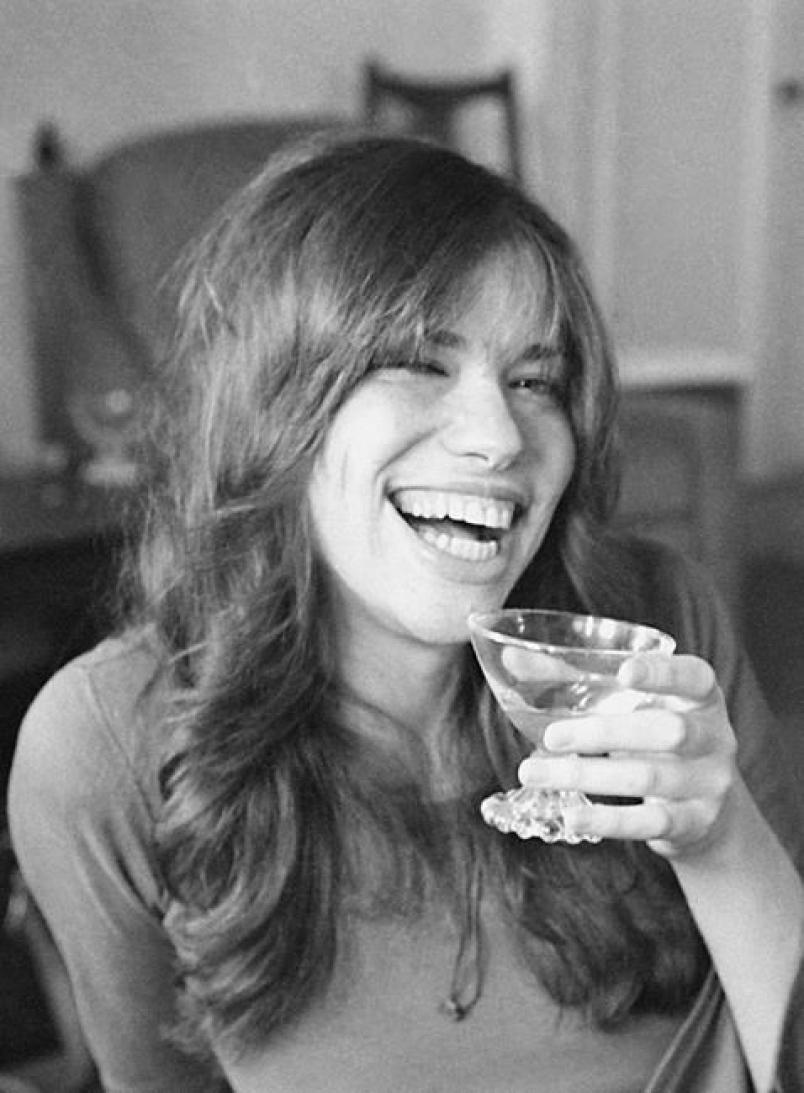 Singer-songwriter Carly Simon in 1971. (AP:David F. Smith).jpg