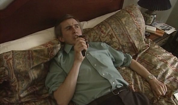 me - i mean Alan- and his dictaphone