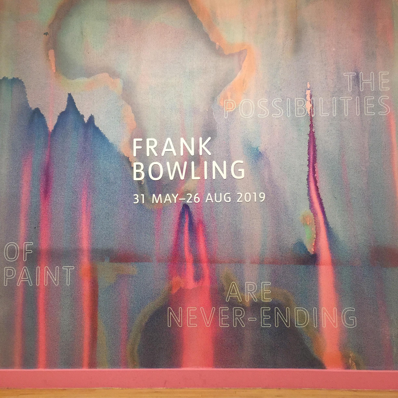 Frank Bowling Tate Britain 2019