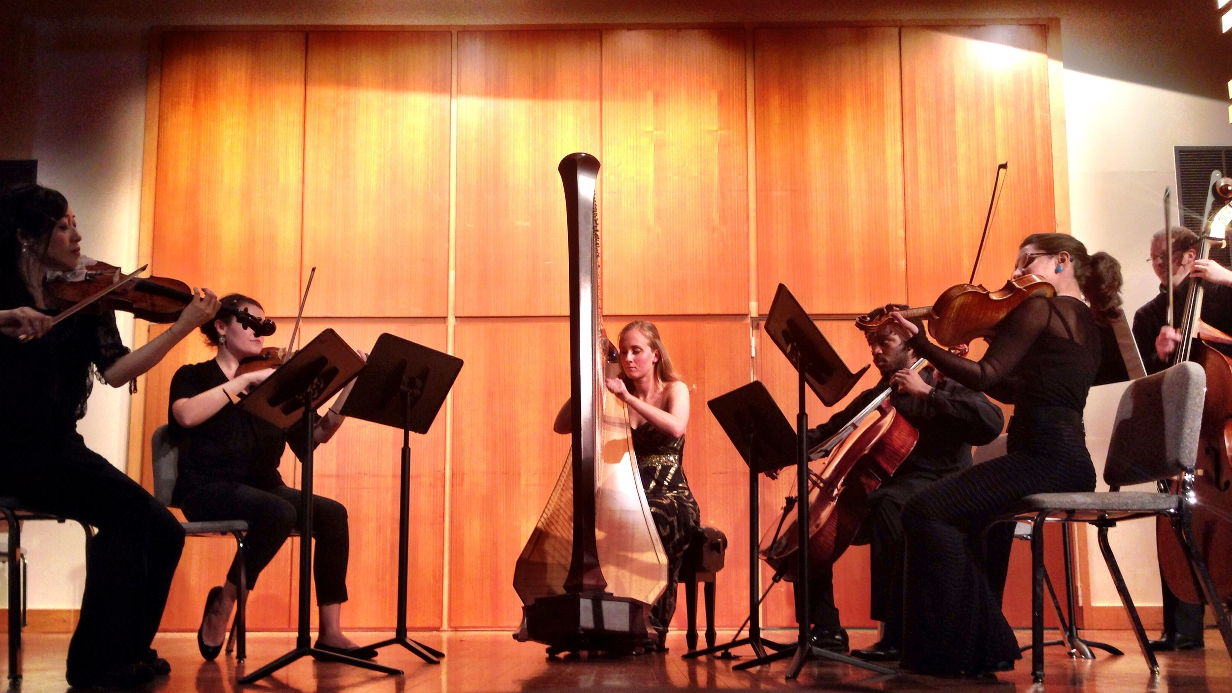 Performing Debussy's Danse Sacree et Profane