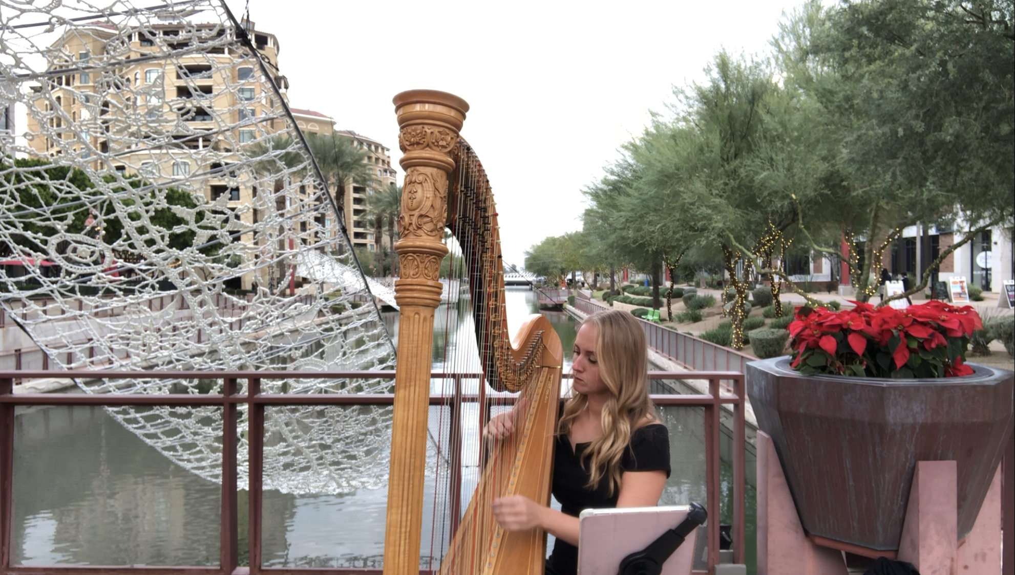 Busking in Old Town, Scottsdale