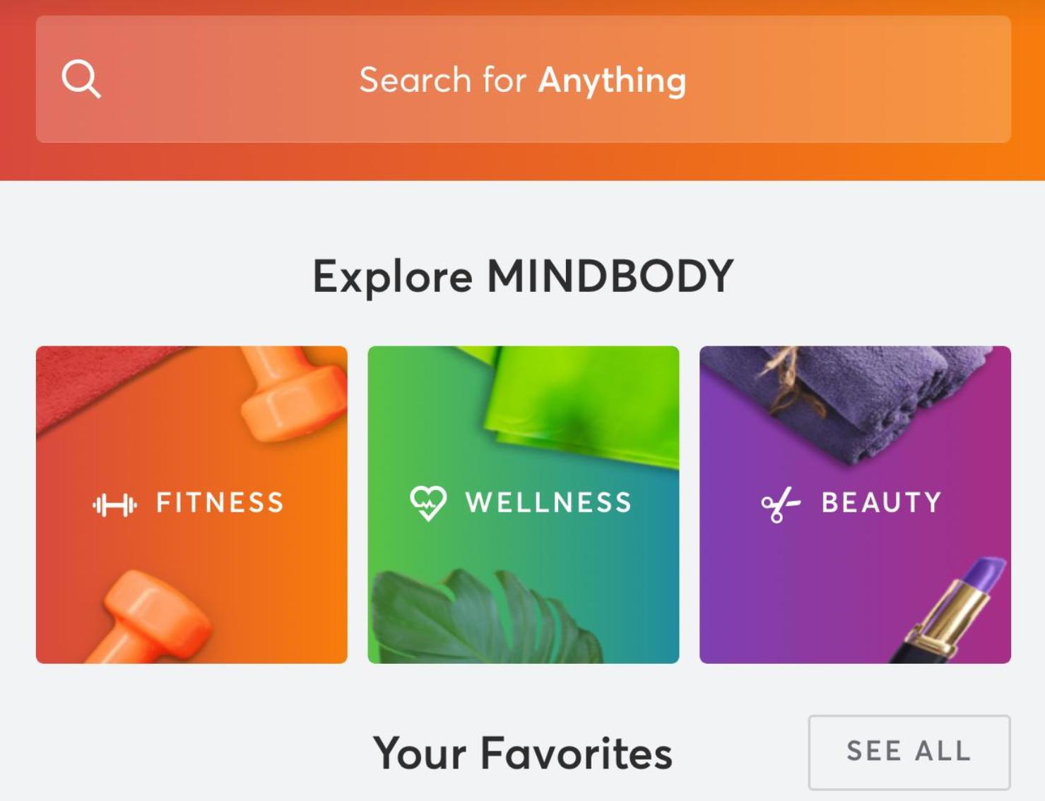 From the MINDBODY app.