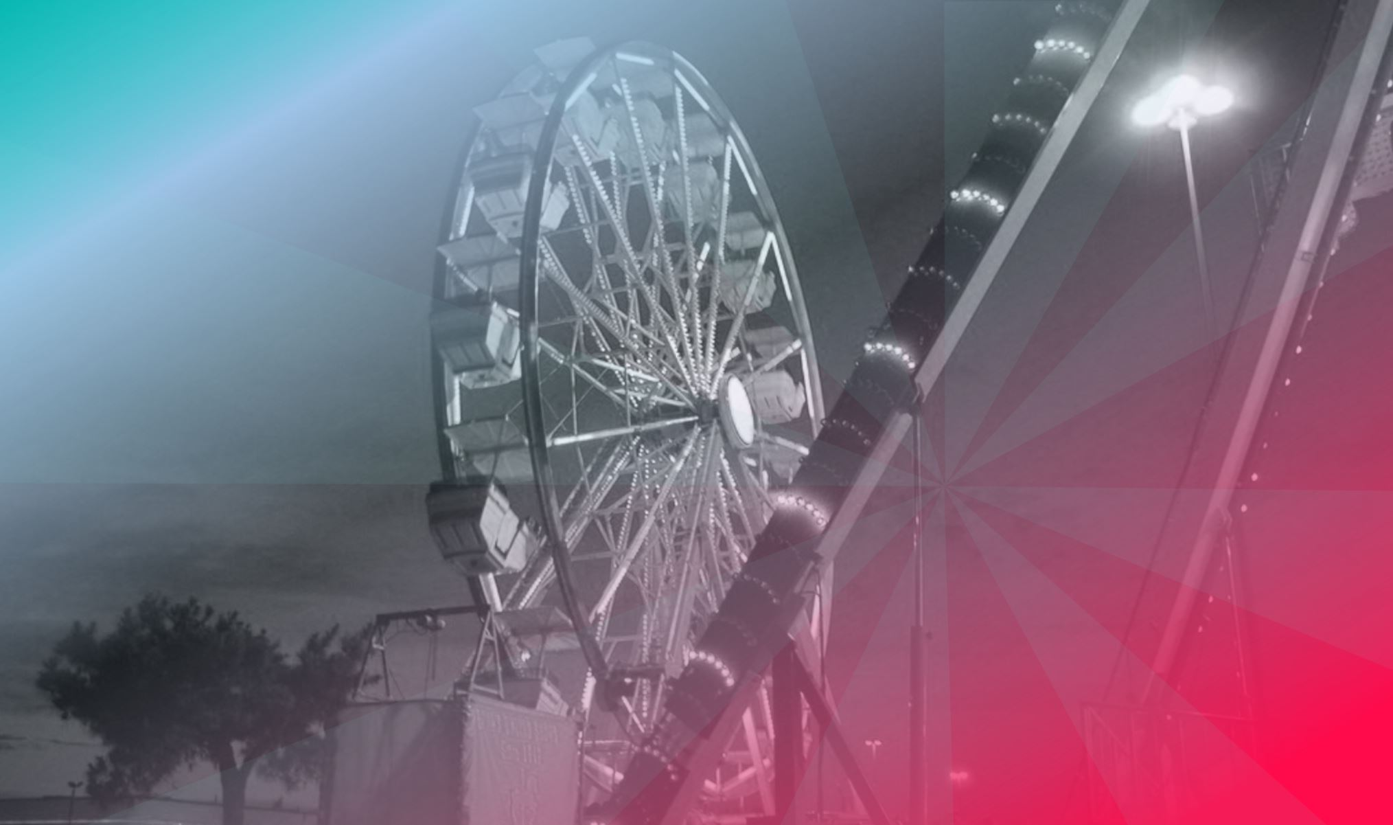 Ferris wheel at the Four States Fair and Rodeo in Texarkana.