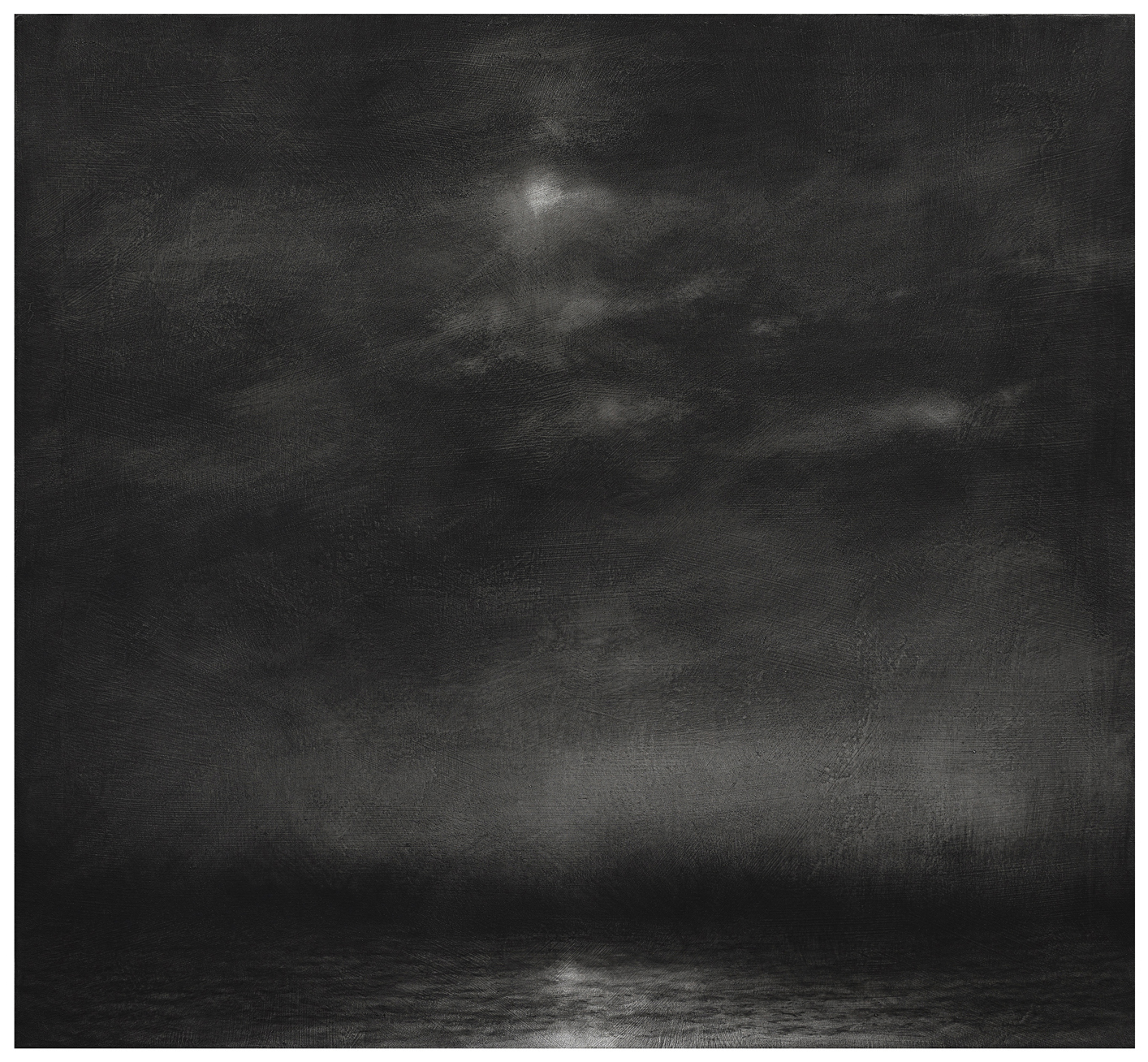 2013, charcoal on canvas, 85x95 cm.