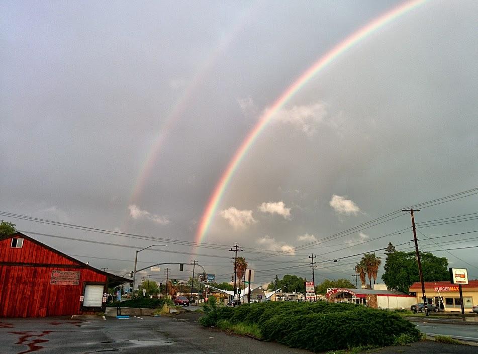 Fair Oaks Double Rainbow
