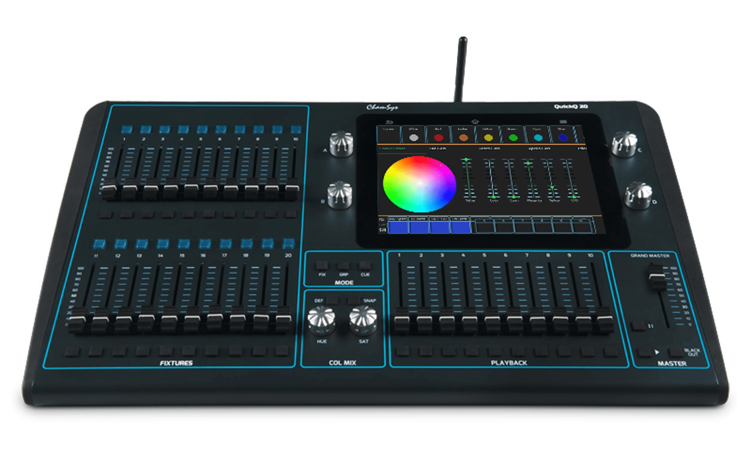 Chamsys QuickQ Compact Lighting Console